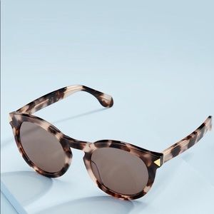 Stella & Dot -Influencer Sunglasses Blush Tortoise